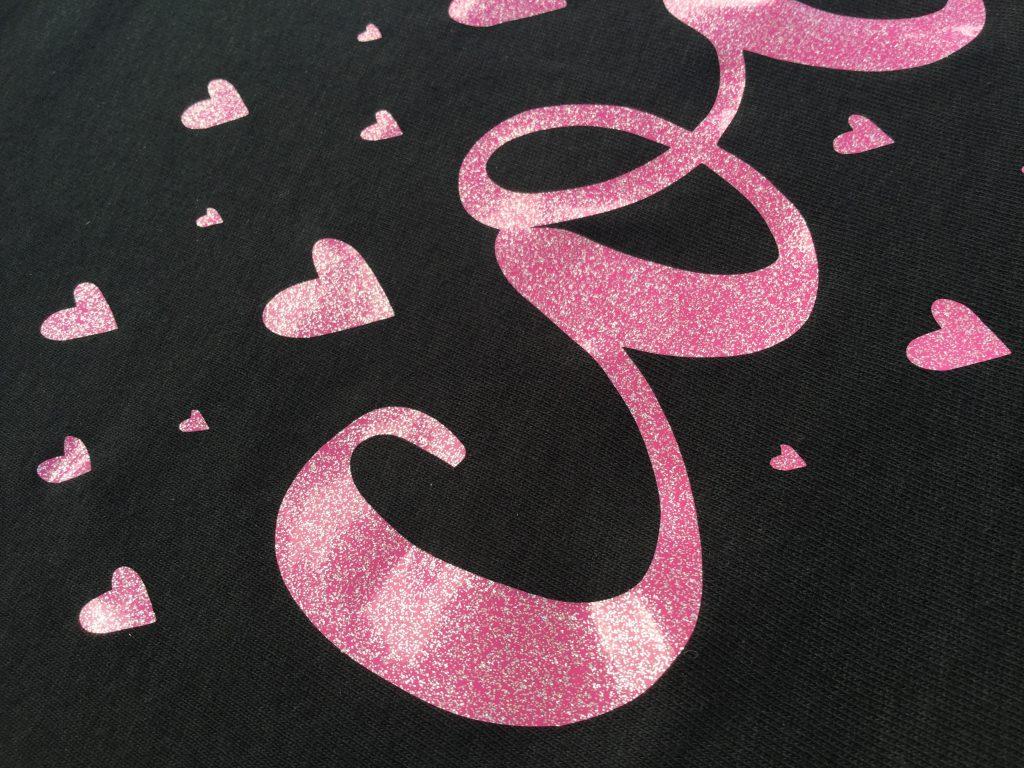 Code Heart Glitter