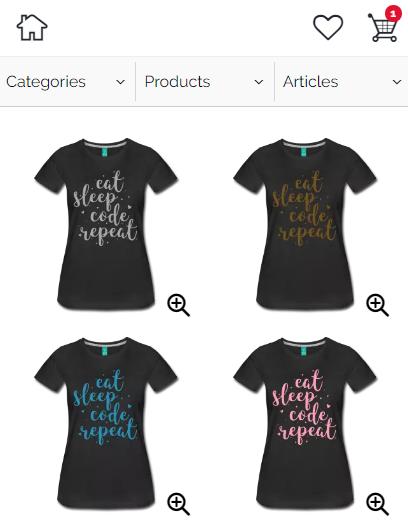 NERDpraunig.com shop - cute nerdy developer shirts for men and women
