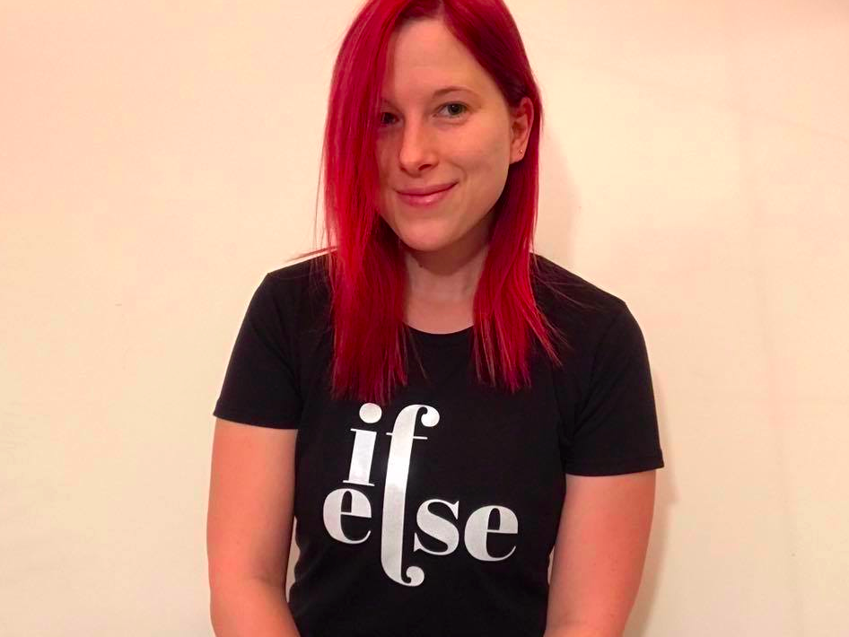 if else developer coder programmer t-shirt